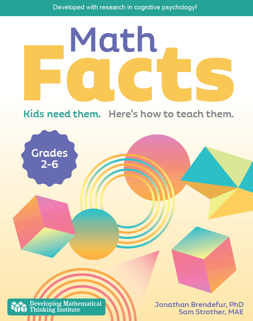 Math Facts book cover