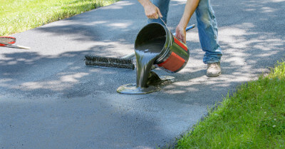 Can You Asphalt Your Own Driveway? | Today I'm Home
