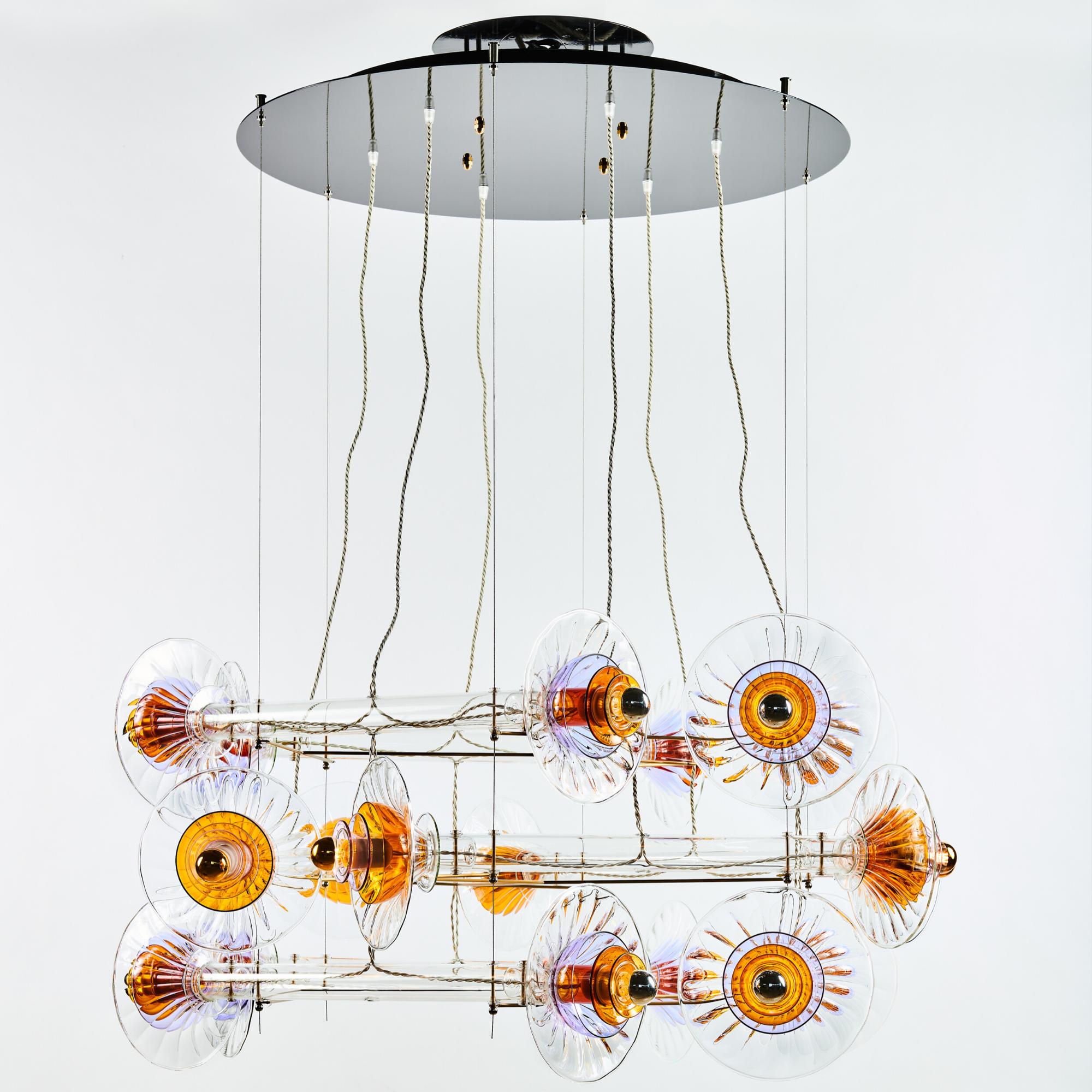 Criss Cross Kite ceiling light