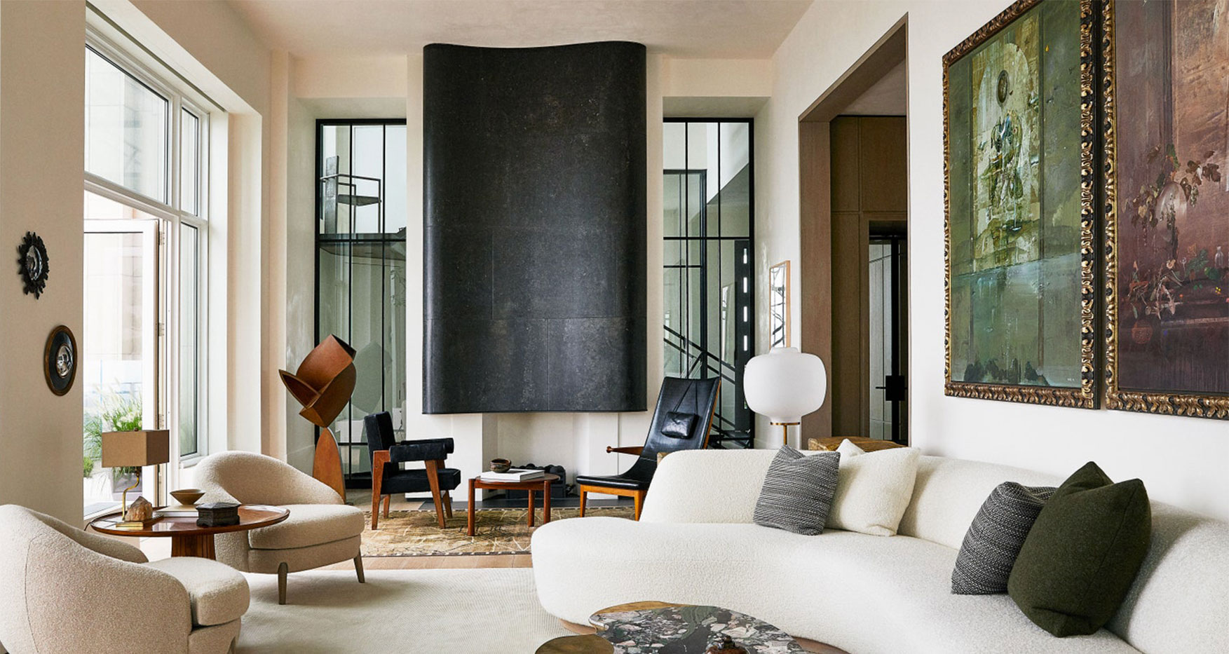 Source Studio Member Carol Egan's New Furniture Pieces are Included in this Exquisite Home by Monique Gibson, as Seen in Architectural Digest