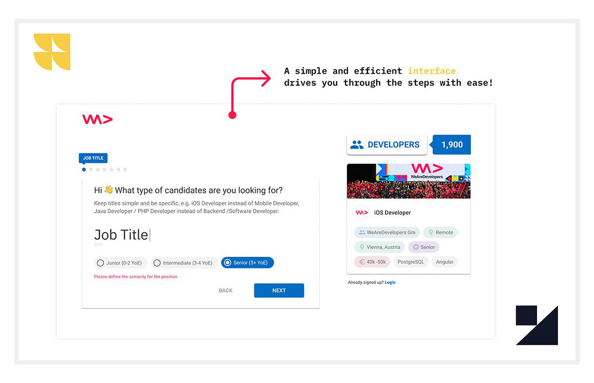 job ad generator, tech recruiting