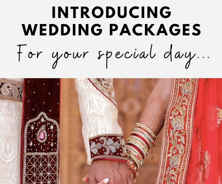 Wedding Packages Coming Soon...