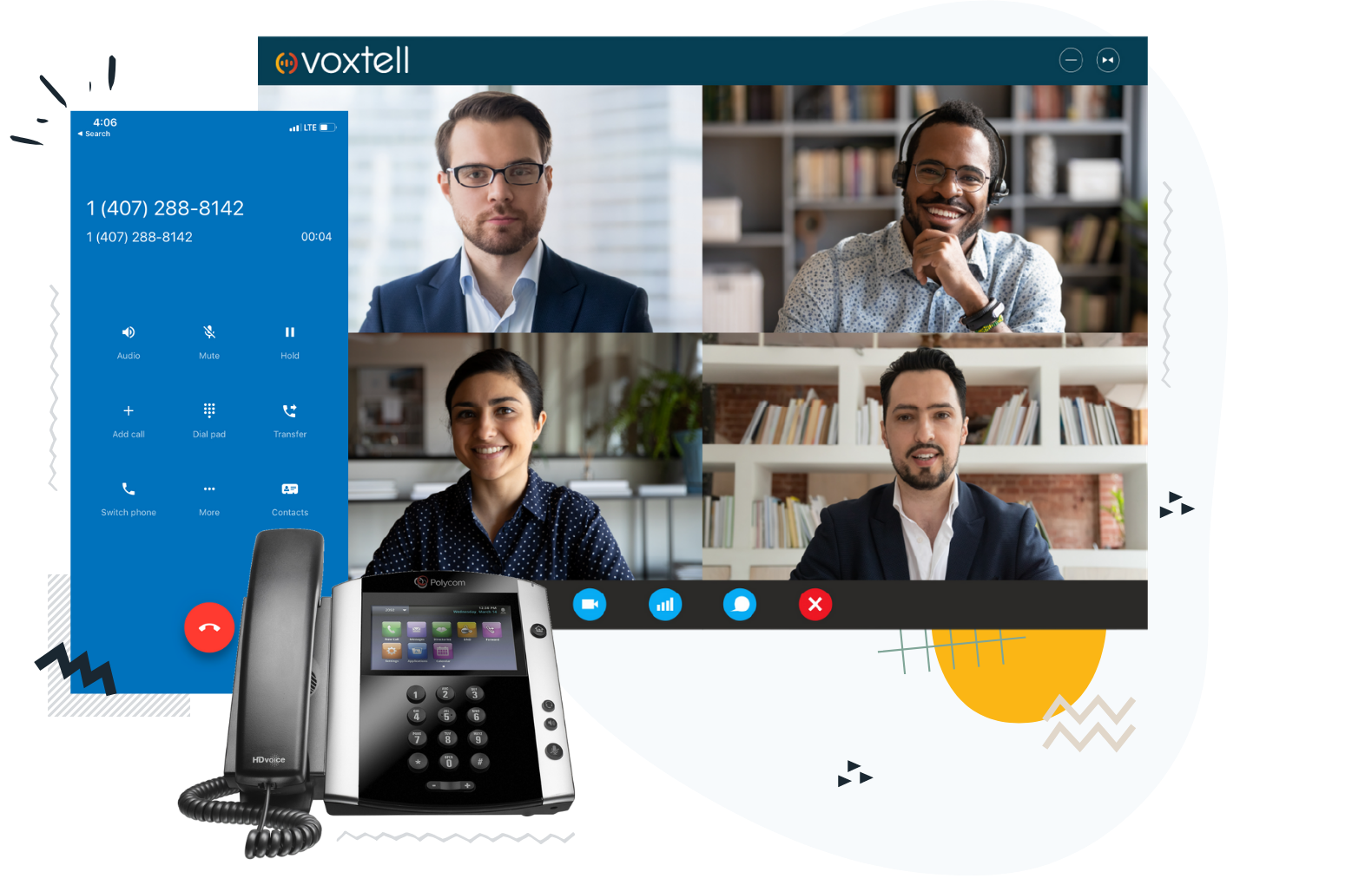 Voxtell business phone system