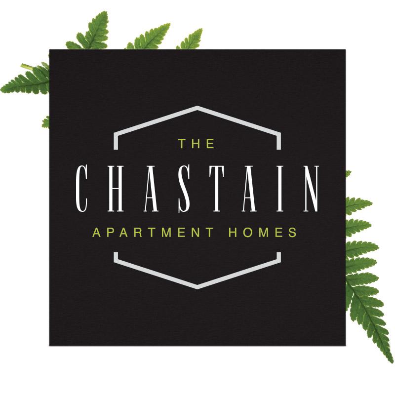 Chastain Logo on Dark Background