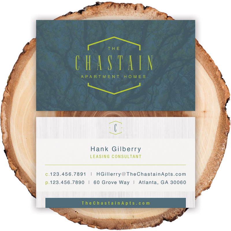 Chastain Business Card