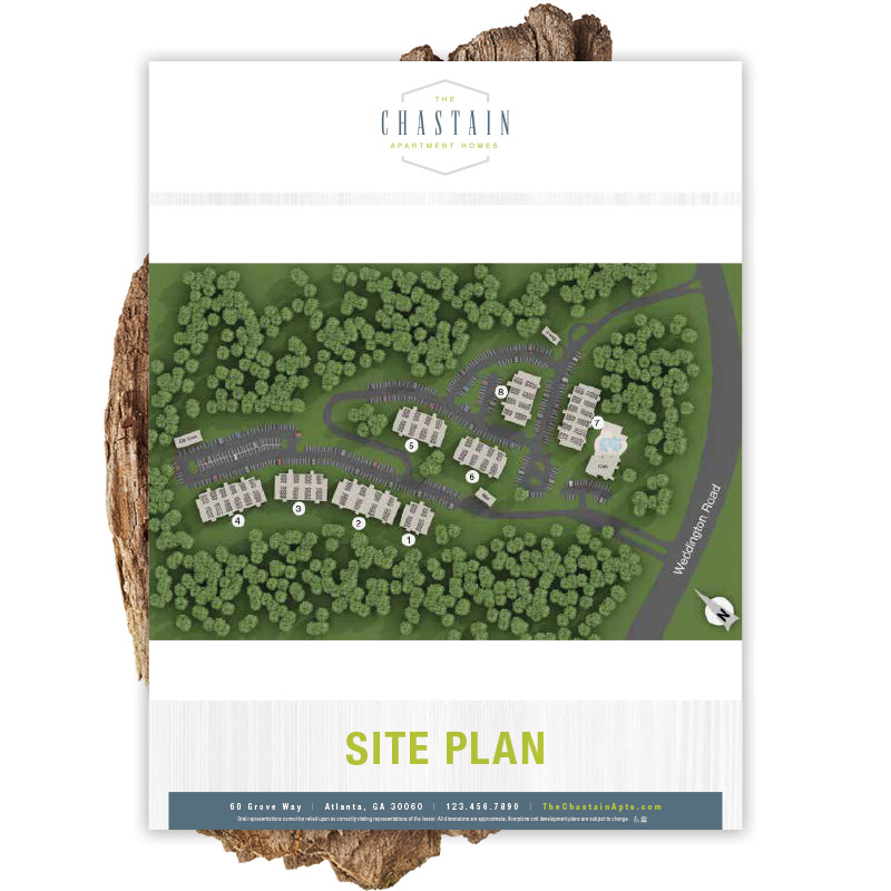 Chastain Floor Plan Flyer