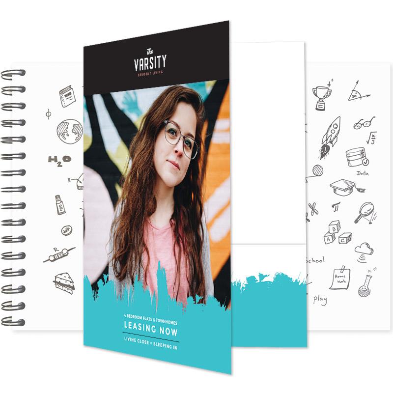 Varsity Pocket Folder