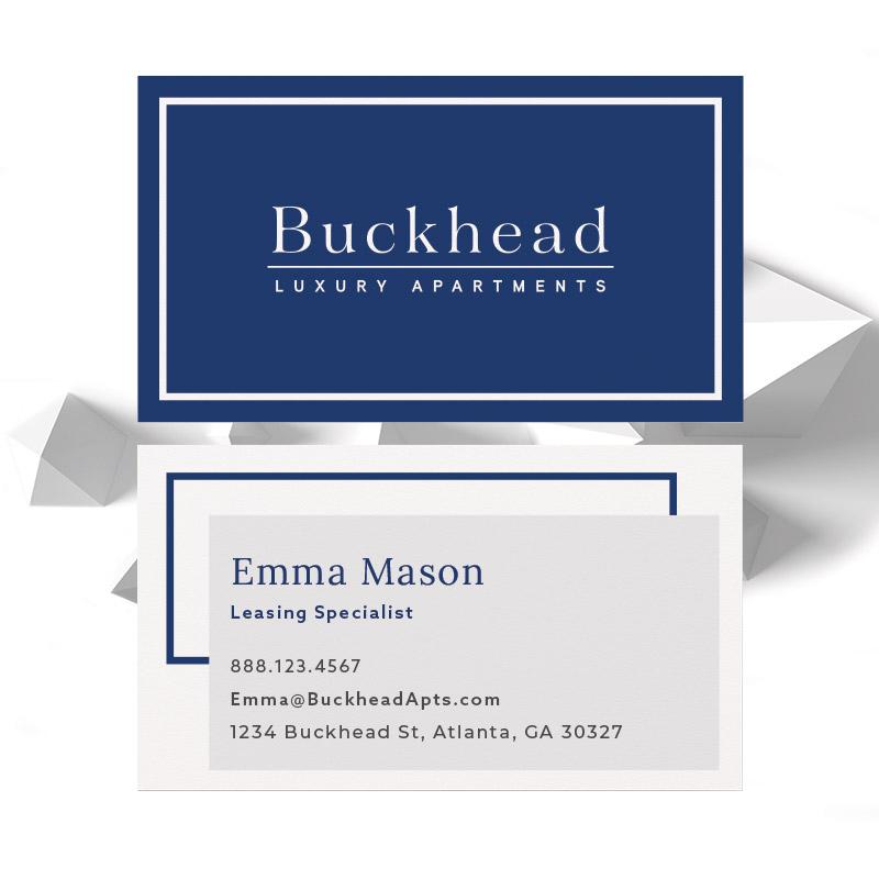 Buckhead Theme Business Card