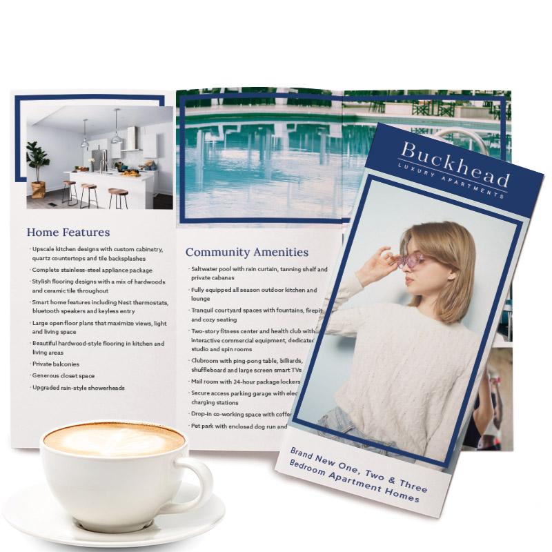 Buckhead Theme Tri-Fold Brochure