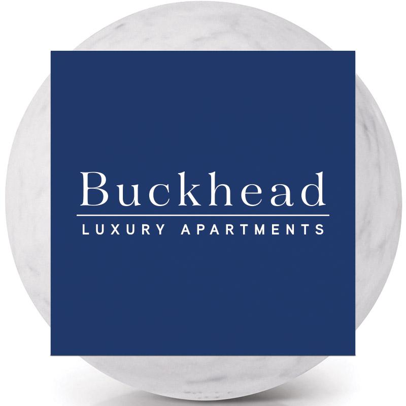 Buckhead Theme Logo on Dark Background