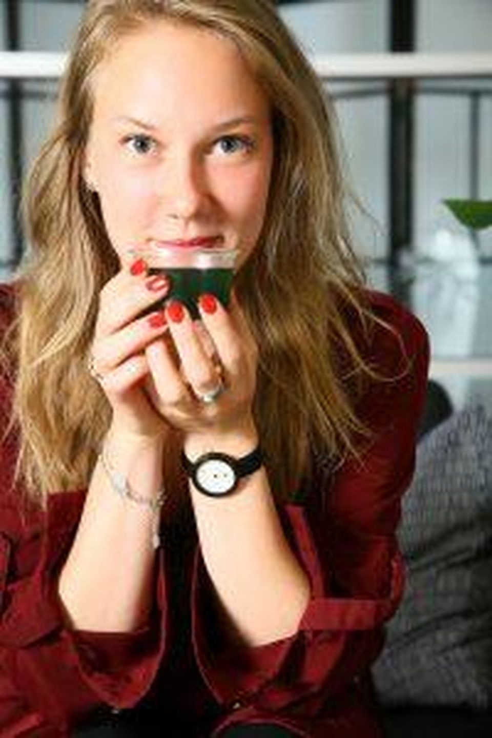 Mariliis Holm, co-founder, Nonfood a Los Angeles startup that's focused on creating food products... [+] from algae.