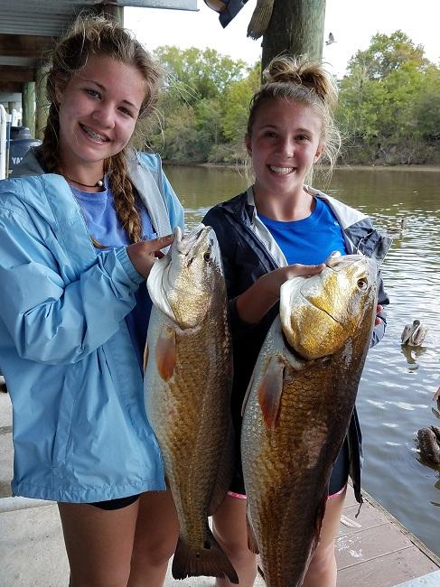 Finding Redfish In The Louisiana Marsh