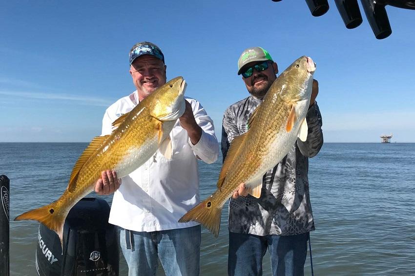 Louisiana Redfish - An Anglers Guide