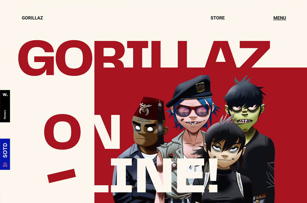 Gorillaz Promo