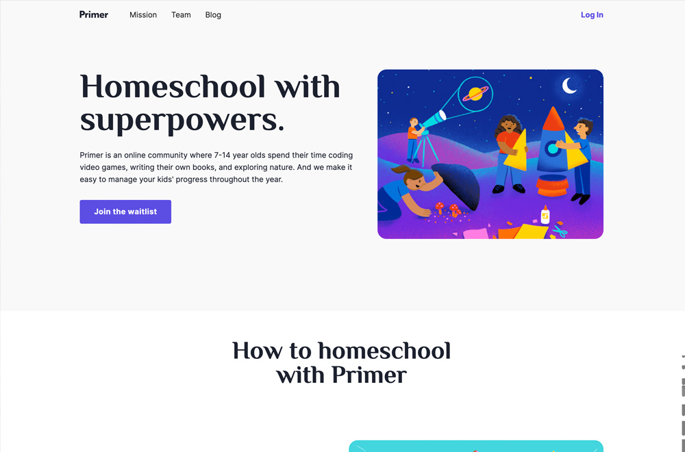 Primer Homeschool