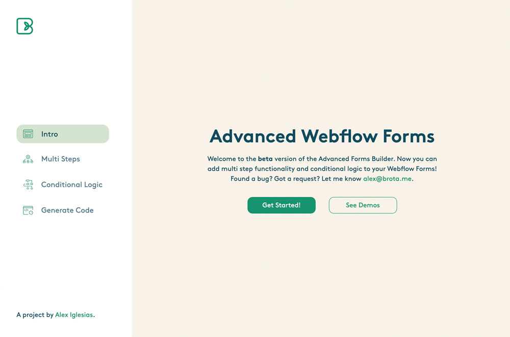 Advanced Webflow Forms