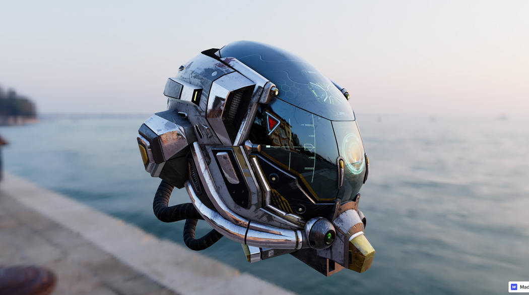 360 Helmet by Sourabh Gorssi