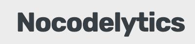 Nocodelytics
