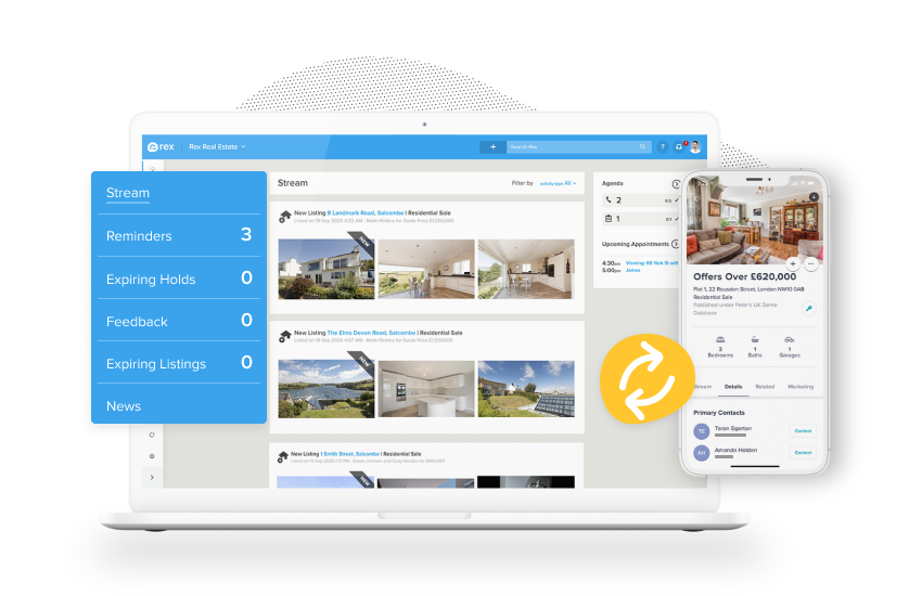 The most efficient way to manage your UK estate agency