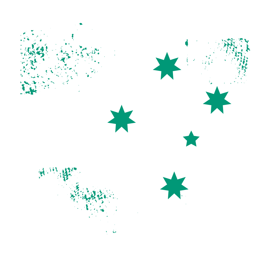 heart icon of southern cross beef logo