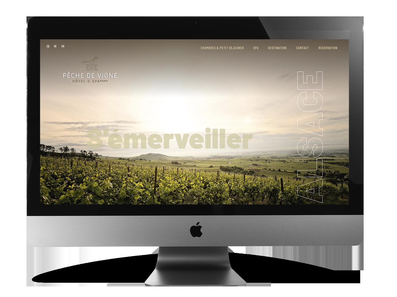Création de site web pour Hotels Philippe Hahn