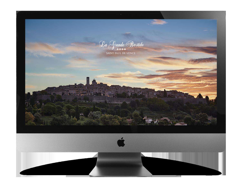 Webdesign-Agentur für Luxushotels, Website-Erstellung