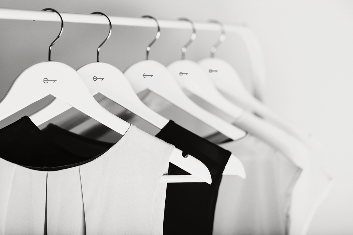 Own-Kind rail of clothes