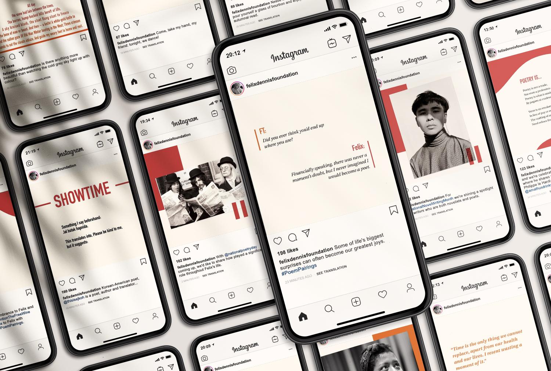 Felix Dennis Foundation social media
