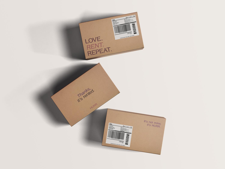 HURR packaging