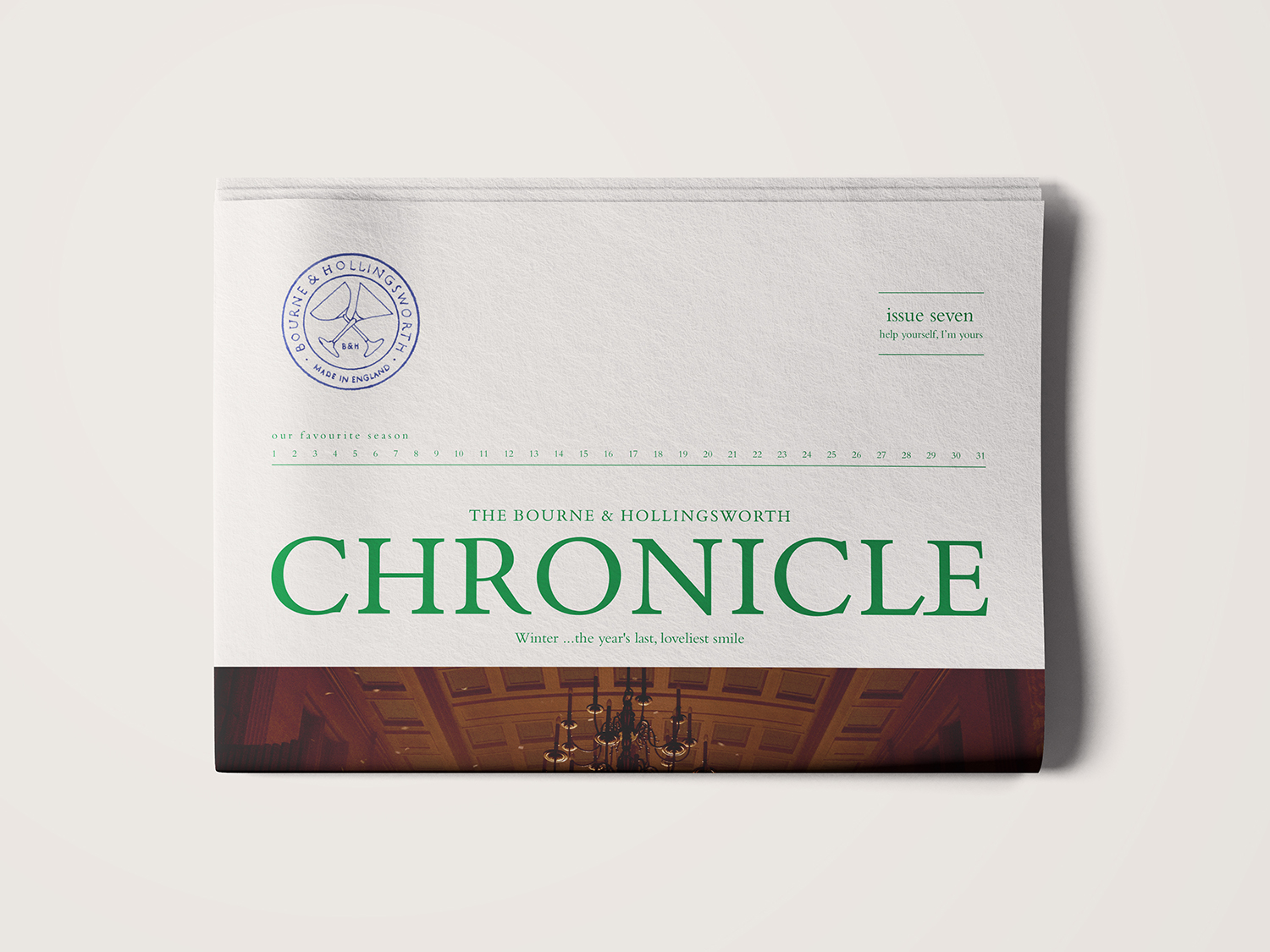 Image of a newspaper called The Chronicle