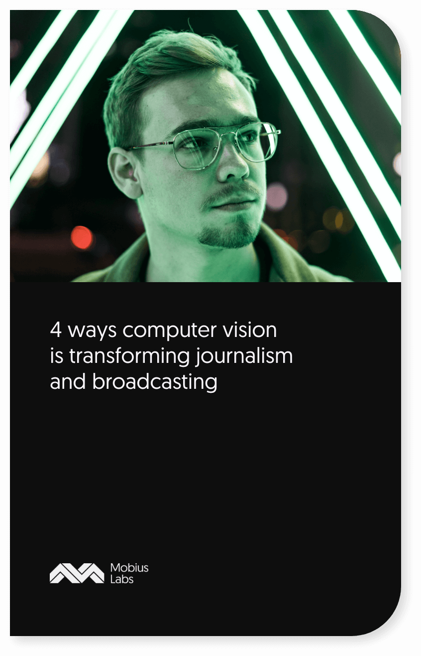 computer vision in press and broadcasting book cover