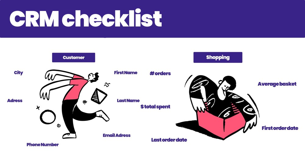 Your CRM action plan to take your ecommerce store to the next level [checklist included]