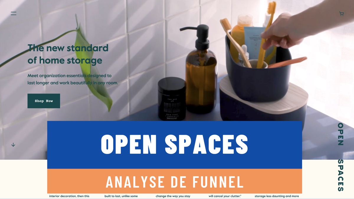 Analyse de funnel / Open Spaces