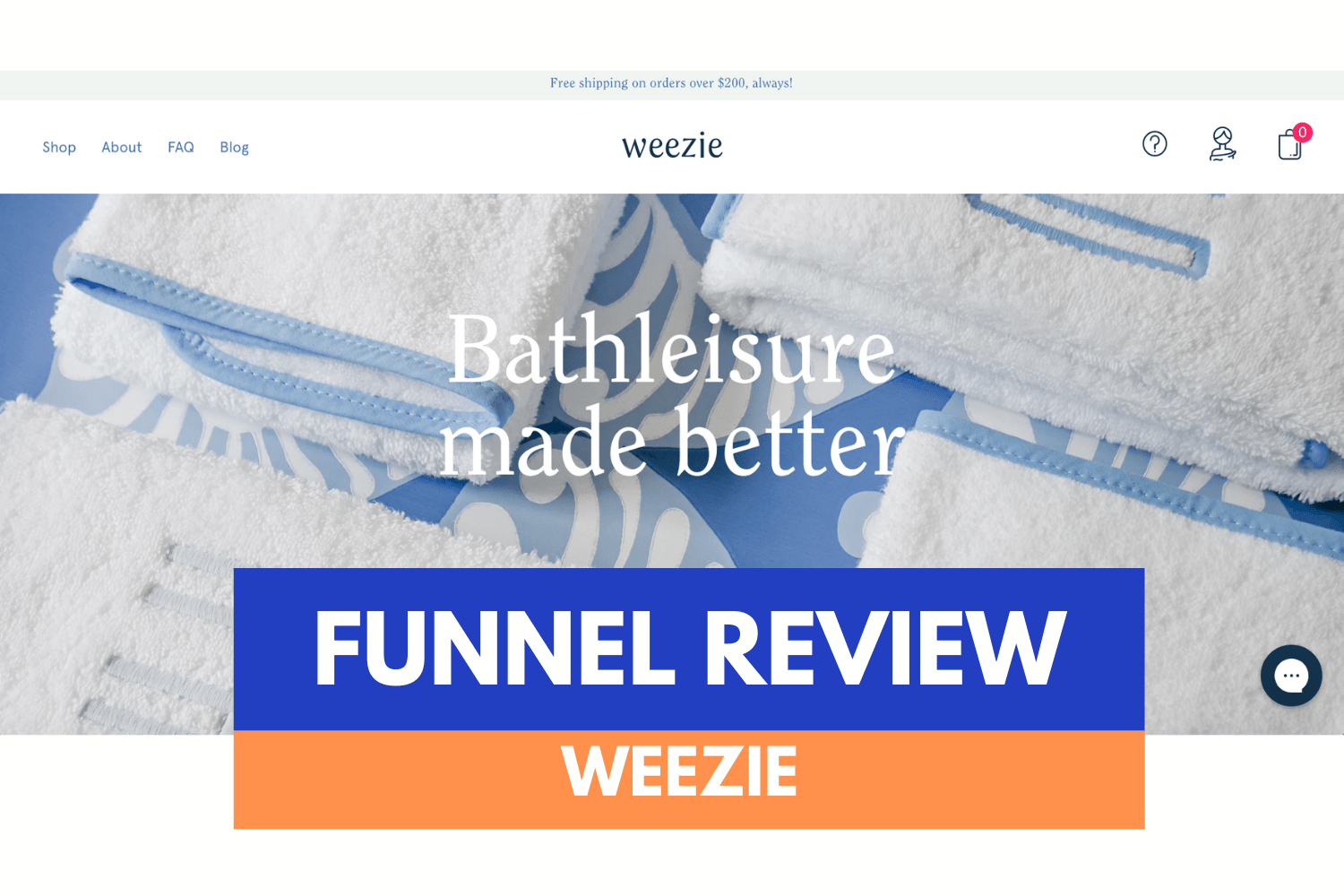 Analyse de Funnel / Weezie