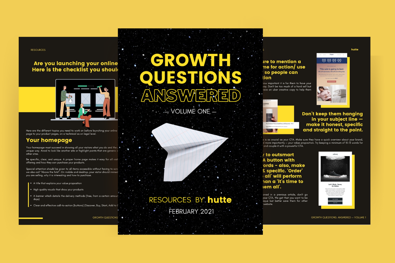 Vos Questions Growth Marketing: Les Réponses — Volume 1