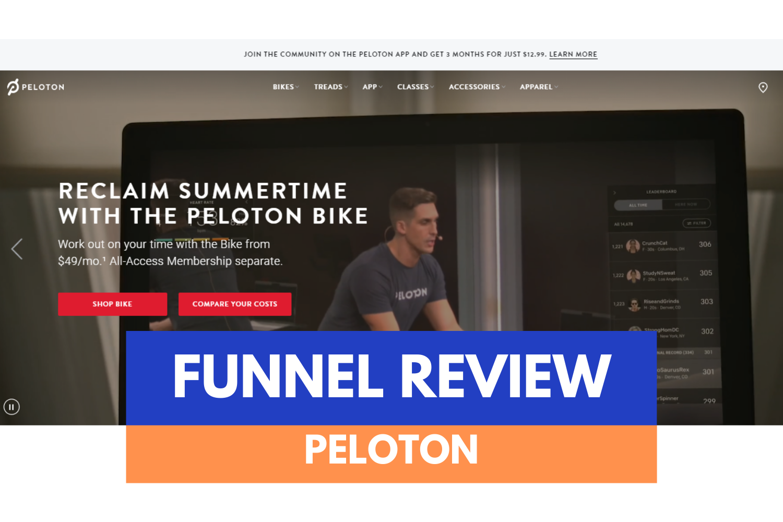 Analyse de Funnel / Peloton