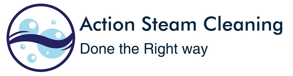 action steam cleaning logo