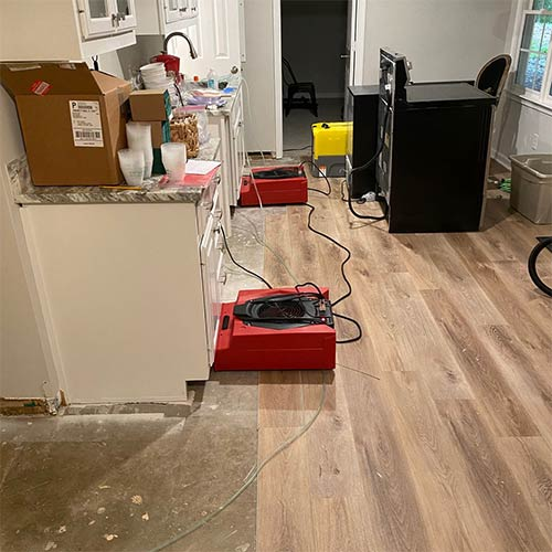Water damage restoration equipment in Woodstock, GA