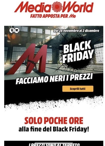 BlackFriday 2019 - MediaWorld