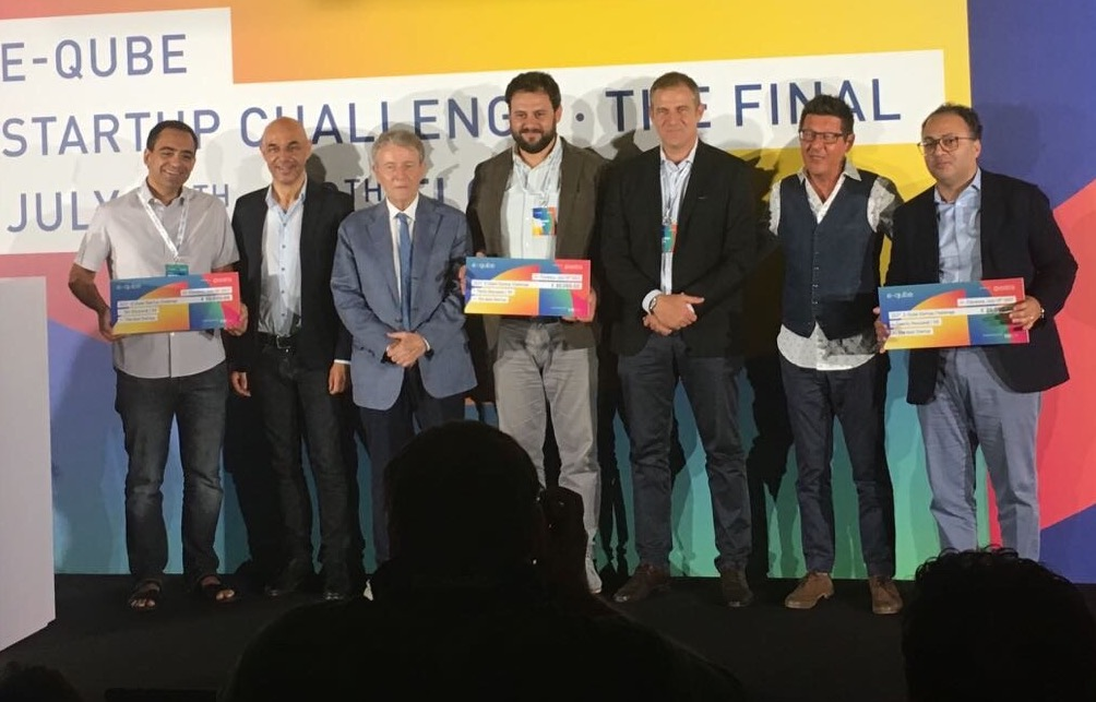 Adabra wins the first edition of the international E-Qube Startup Challenge award.