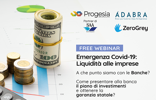Adabra among the companies promoting a webinar on the Liquidity Decree.