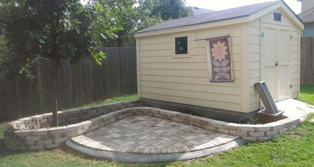 Stonework and paver installation in Austin, TX