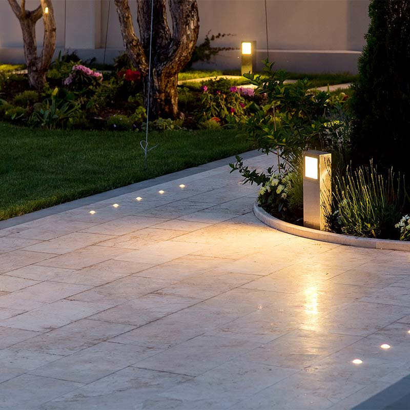 Landscape lighting in Austin, TX