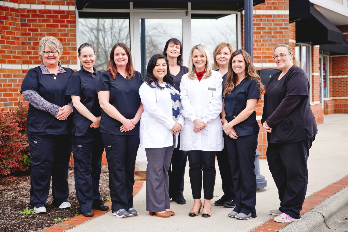 The wonderful Pressley Family Dentistry team