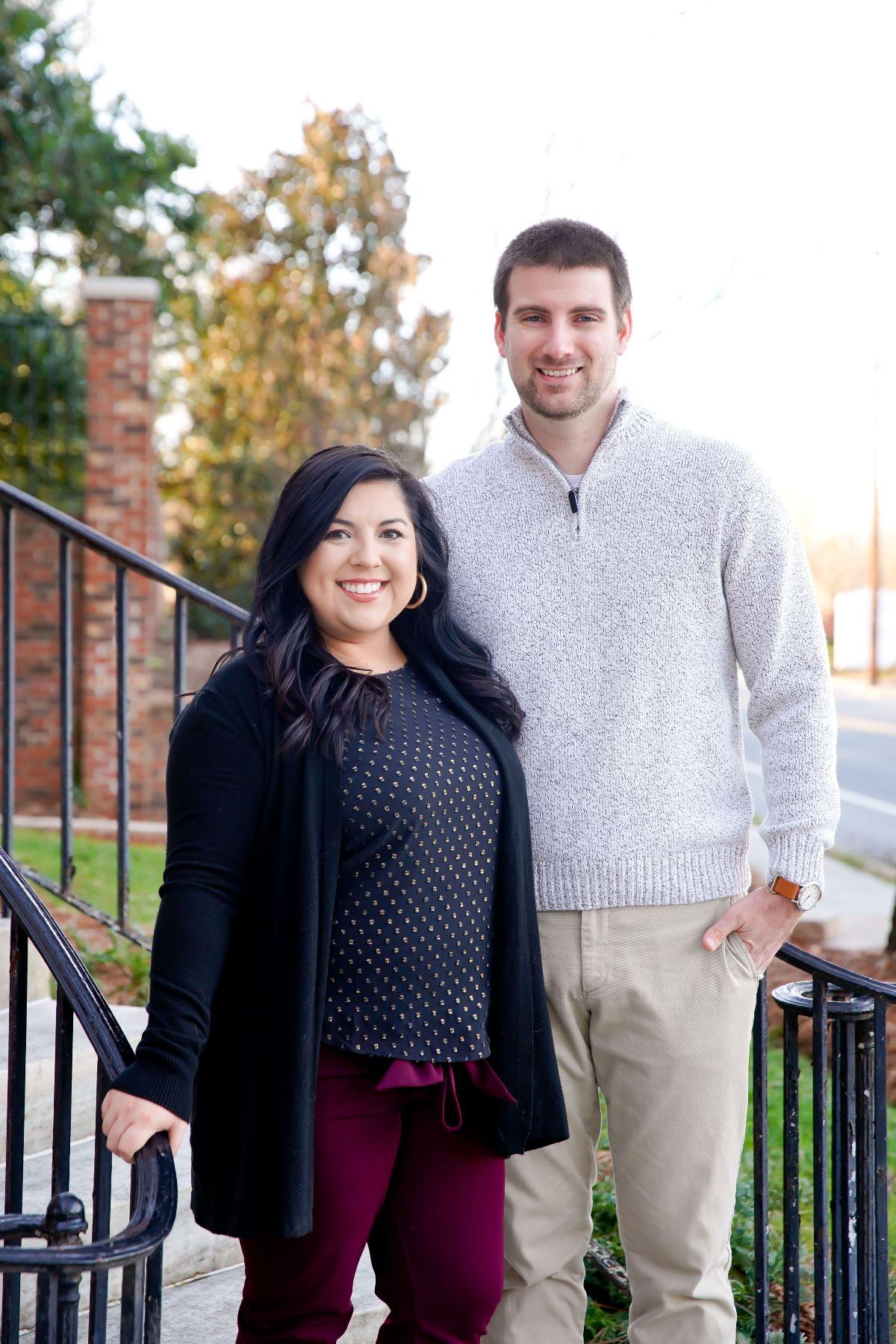 Dr Pressley and her husband