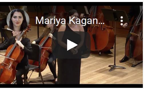 Mariya Kaganskaya - Da, chas nastal (The Maid of Orleans)