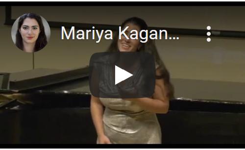 Mariya Kaganskaya - Letters aria (Werther)