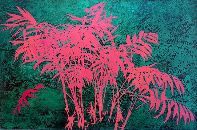 Pink Trees Art