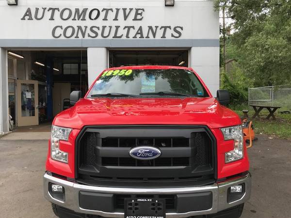 2017 Ford F150 Super Cab 4x4