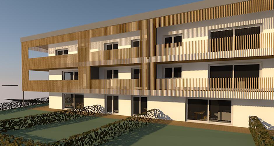 Wohnbebauung Eben am Achensee